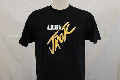 T SHIRT ARMY BLK JROTC