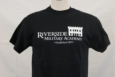 T Shirt Castle Black