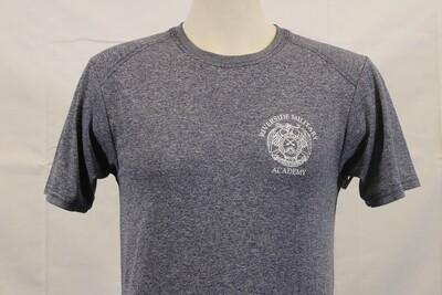 T Shirt NavyHeathered CREST