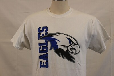 T Shirt Vertical Eagle WH