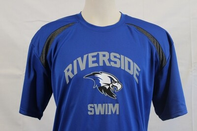 T SHIRT SWIM RB/CARBON