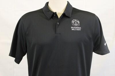 Polo Nike Blk Legacy Crest
