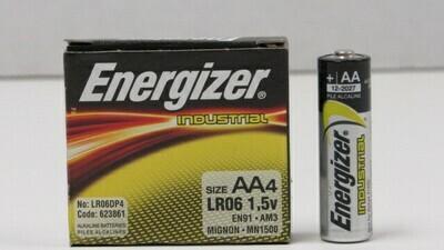 Battery Energizer AA Per 4/Pk