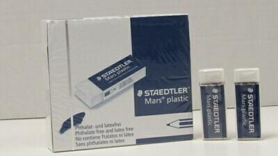ART Vinyl Eraser White