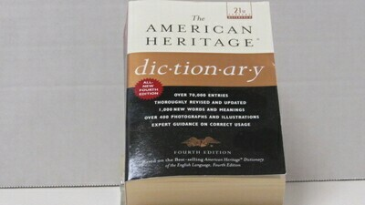 Dictionary American Heritage