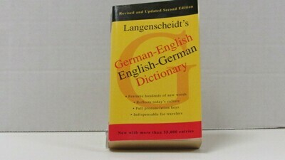 Dictionary German-English