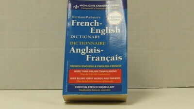Dictionary French Webster
