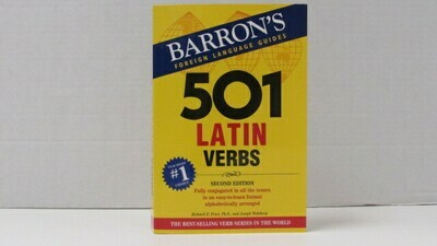 Dictonary 501 Latin Verbs