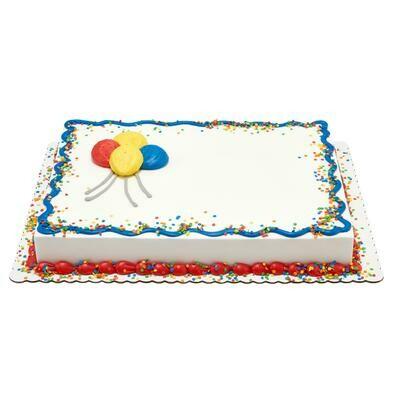 Birthday Full Sheet Cake