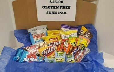 $15 Gluten Free Snak Pak