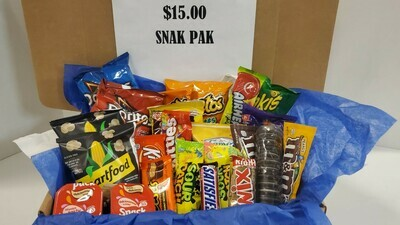 $15 Snak Pak