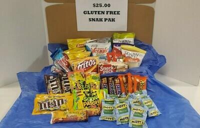$25 Gluten Free Snak Pak