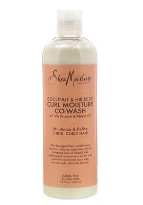 Shea Moisture Curl Moisture Co Wash 12oz