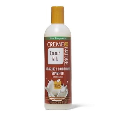 Creme Of Nature Coconut Milk Detangling & Conditioning Shampoo 12oz