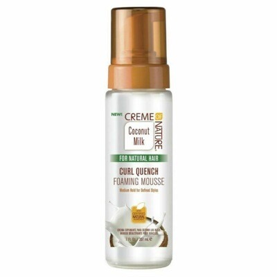 Creme Of Nature Curl Quenching Foaming Mousse 7oz