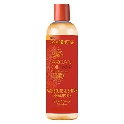 Creme Of Nature Sulfate-free Moisture & Shine Shampoo 12oz
