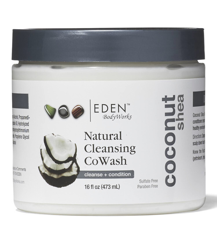 Eden Body Works Coconut Shea Co Wash 16oz