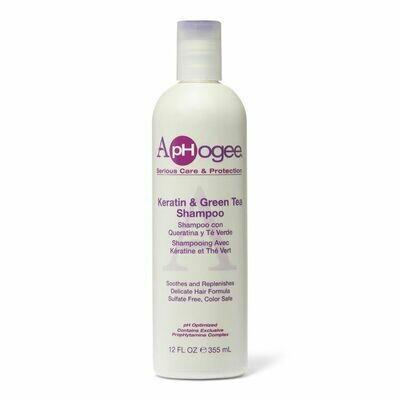 Aphogee Keratin & Green Tea Shampoo 12oz