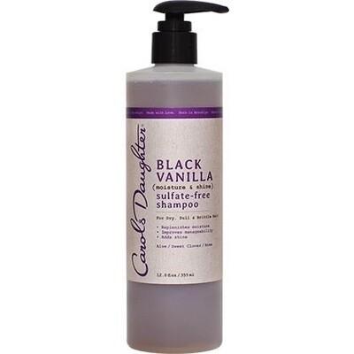 Carol's Daughter Black Vanilla Sulfate-Free Shampoo 12oz