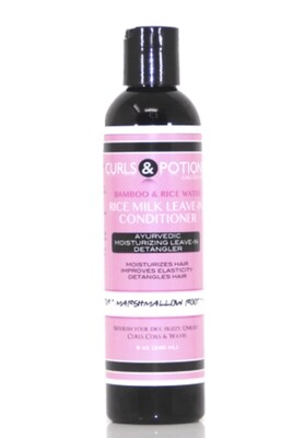 Curls & Potions Rice Milk Leave-In Conditioner 8oz