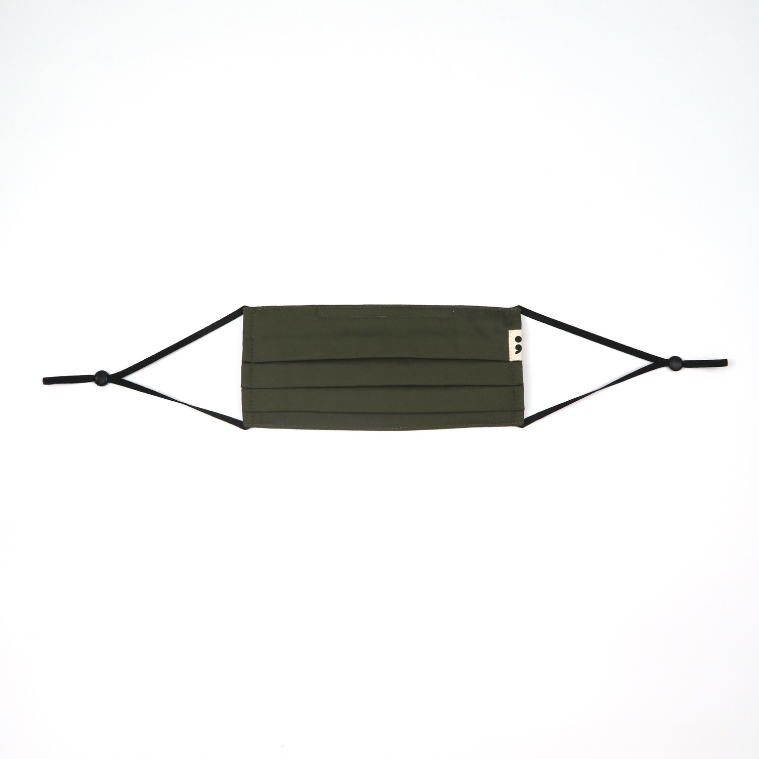 V-mask: Reusable & Washable Face Mask in Army Green
