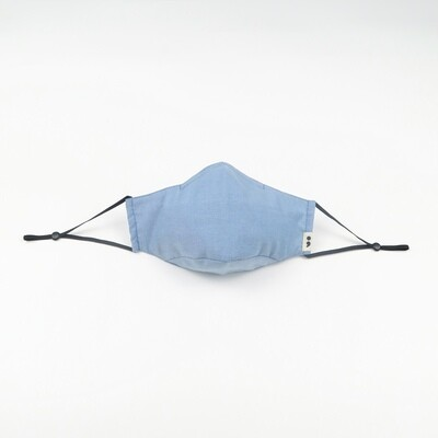 C-mask: Reusable & Washable Face Mask in Aqua Blue