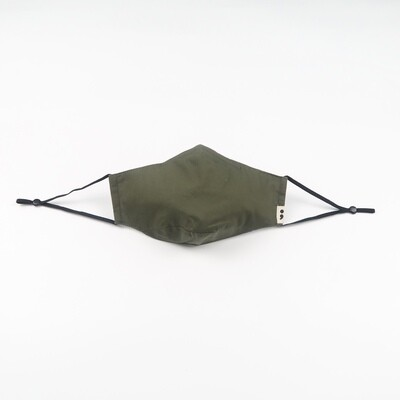 C-mask: Reusable & Washable Face Mask in Army Green