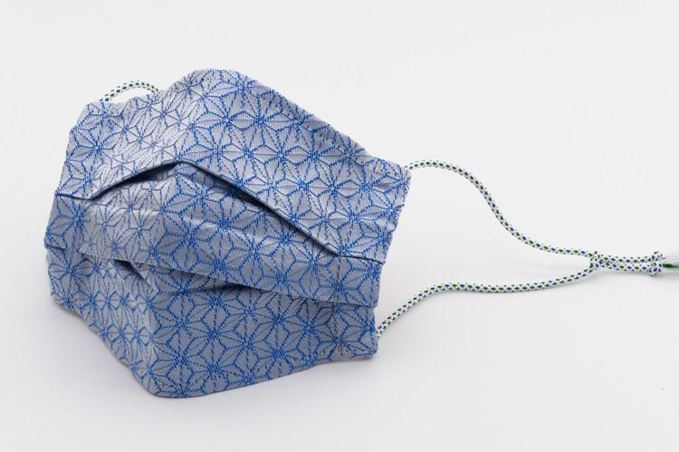 ORIGAMI <Blue>_Nishijin Mask