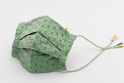 ORIGAMI <Green>_Nishijin Mask