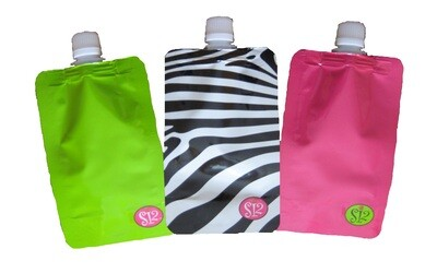 Disposable Flask Set of 3 (Female Designs)