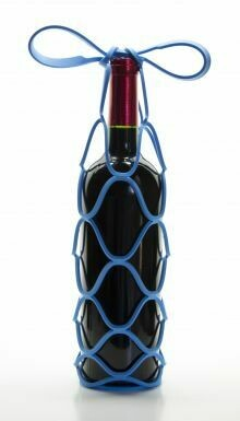Blue Wine Carrier/Trivet