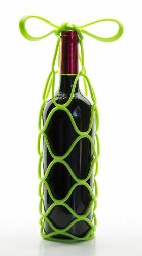 Green Wine Carrier/Trivet