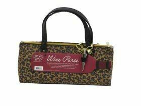 Leopard Wine Purse