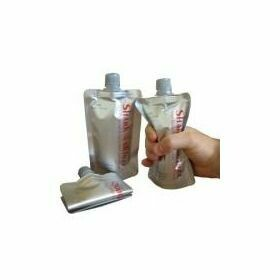 Disposable Flask Set of 3 (Silver)