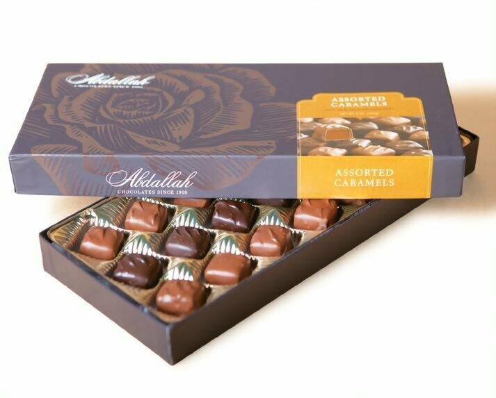 Assorted Caramels 9oz Box