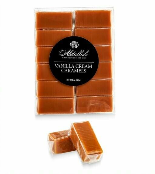 Vanilla Cream Caramels