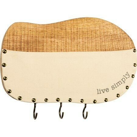 Live Simply Wall Pocket and Key Rack