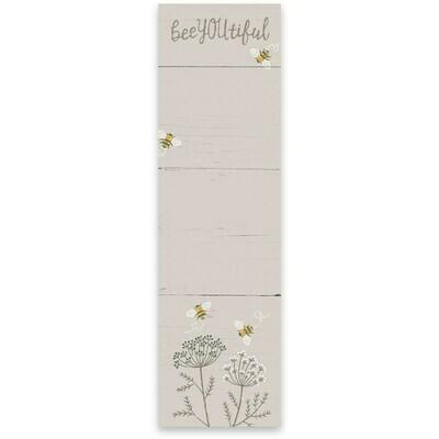 Magnetic Notepad; Beeyoutiful