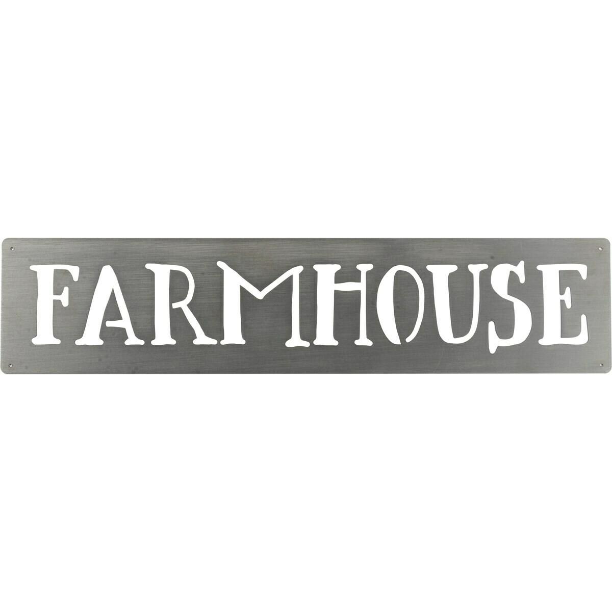 Farmhouse Metal Wall sign