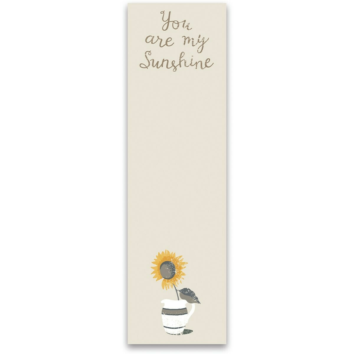 Magnetic Notepad; You are my sunshine