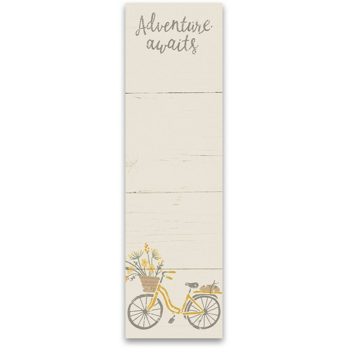 Magnetic Notepad; Adventure Awaits