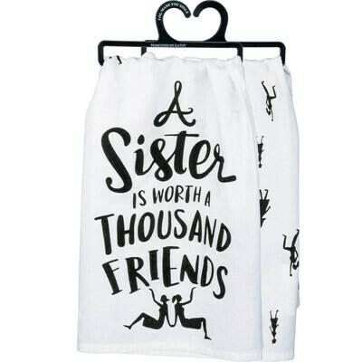 Dish Towel; A Sister....