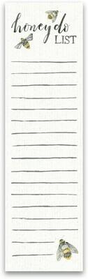 Magnetic Notepad; Honey Do List
