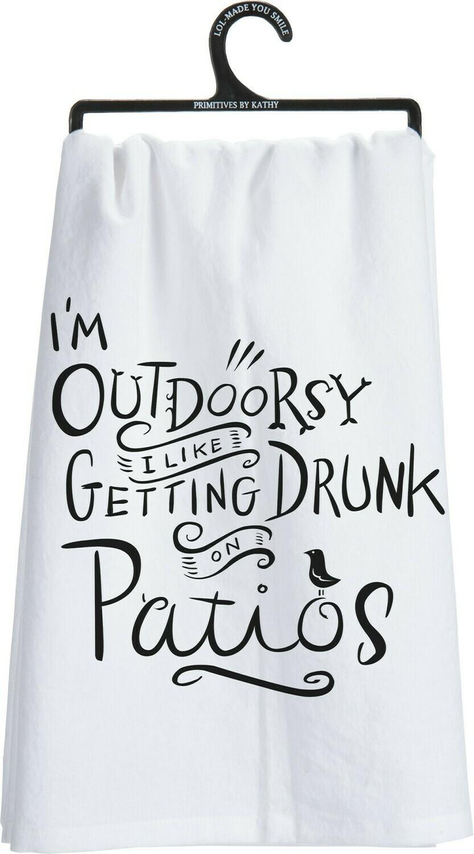 Dish Towel; Outdoorsy