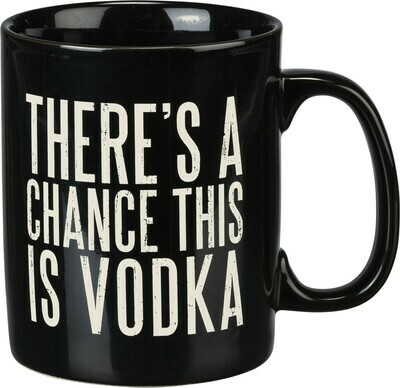Coffee Mug; Vodka