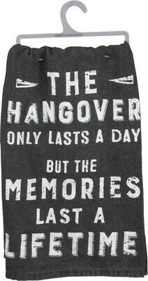Dish Towel; Hangover