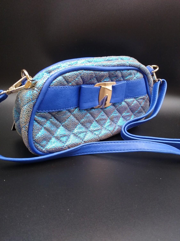 Cobalt Blue Vintage Purse