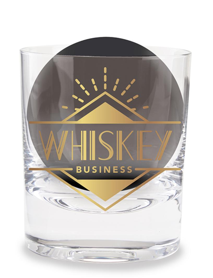 Whiskey Glass Set; Whiskey Business
