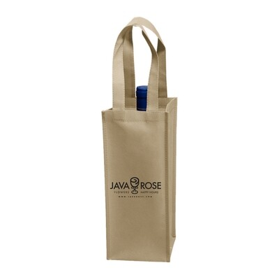One Bottle Tote; Java Rose