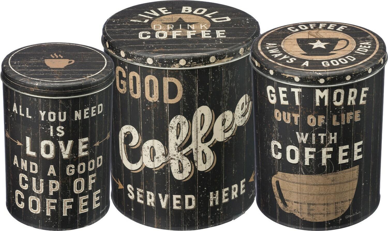 Coffee Tin; Large
